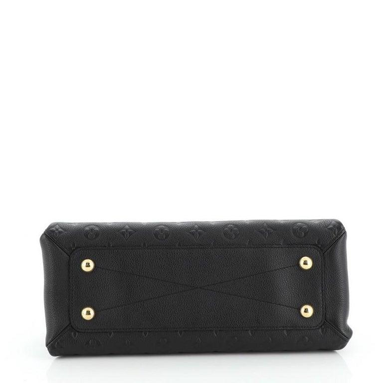 Louis Vuitton Vosges Handbag Whipstitch Monogram Empreinte Leather MM For Sale 1