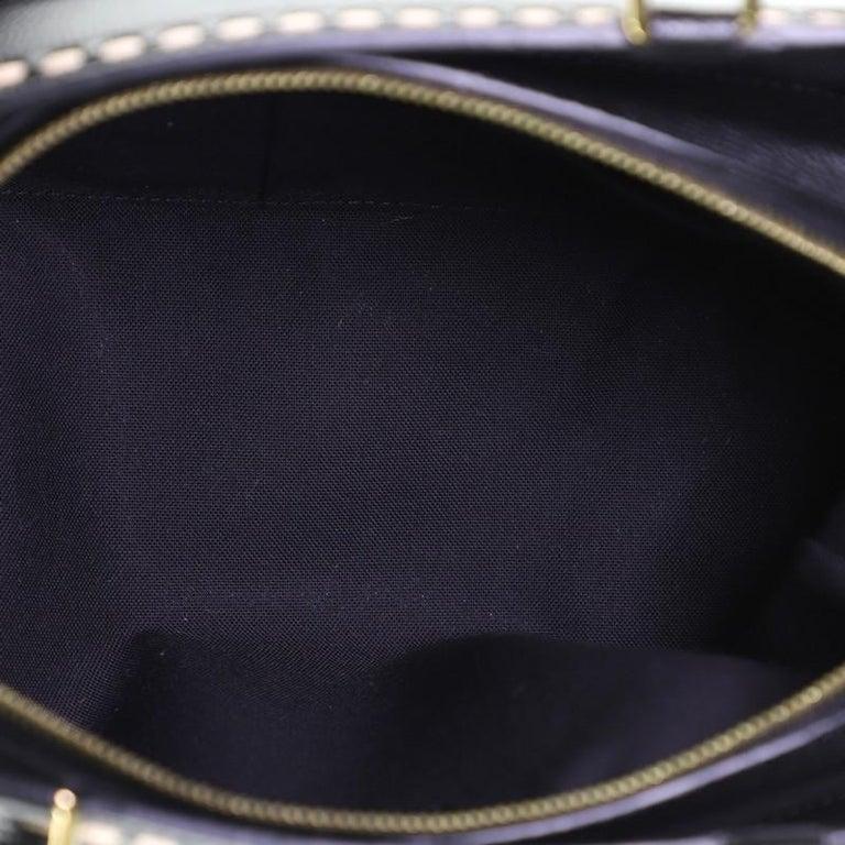 Louis Vuitton Vosges Handbag Whipstitch Monogram Empreinte Leather MM For Sale 2