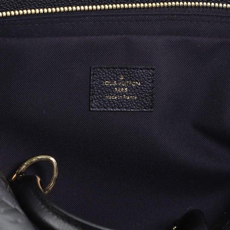 Louis Vuitton Vosges Handbag Whipstitch Monogram Empreinte Leather MM For Sale 3