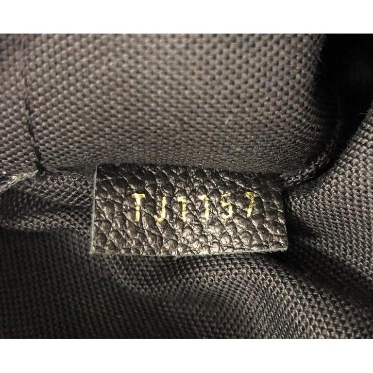 Louis Vuitton Vosges Handbag Whipstitch Monogram Empreinte Leather MM For Sale 4