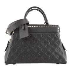 Louis Vuitton Vosges Handbag Whipstitch Monogram Empreinte Leather MM