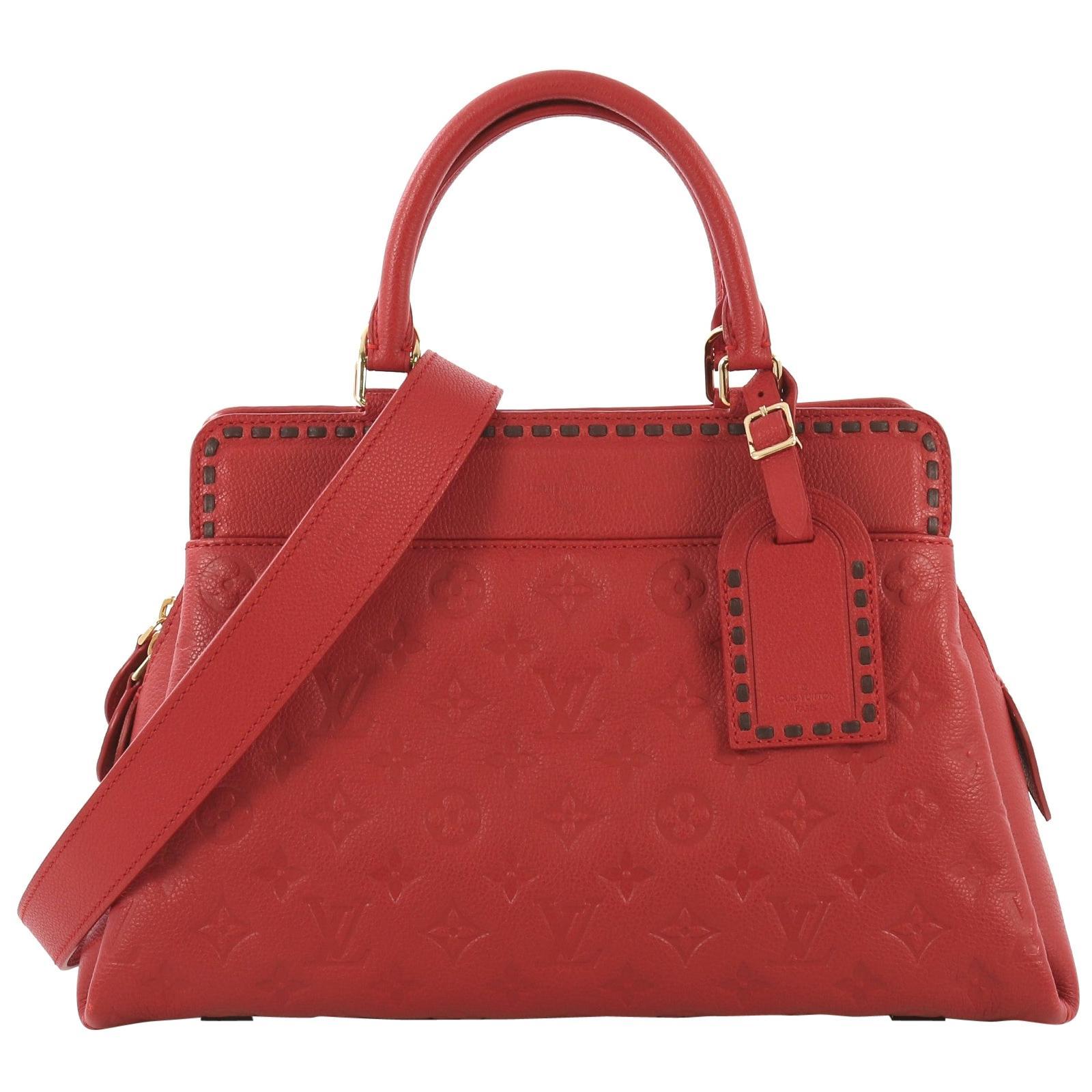 9907a7b377cf0e Louis Vuitton Speedy 30 Epi Red For Sale at 1stdibs
