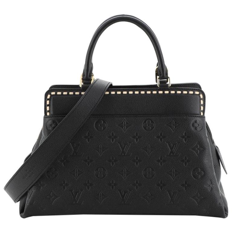 Louis Vuitton Vosges Handbag Whipstitch Monogram Empreinte Leather MM For Sale