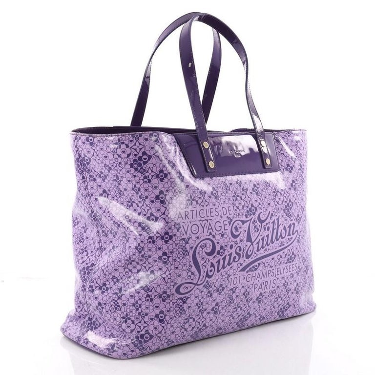 f05700fbde915 Louis Vuitton Voyage Tote Cosmic Blossom GM In Good Condition For Sale In  New York