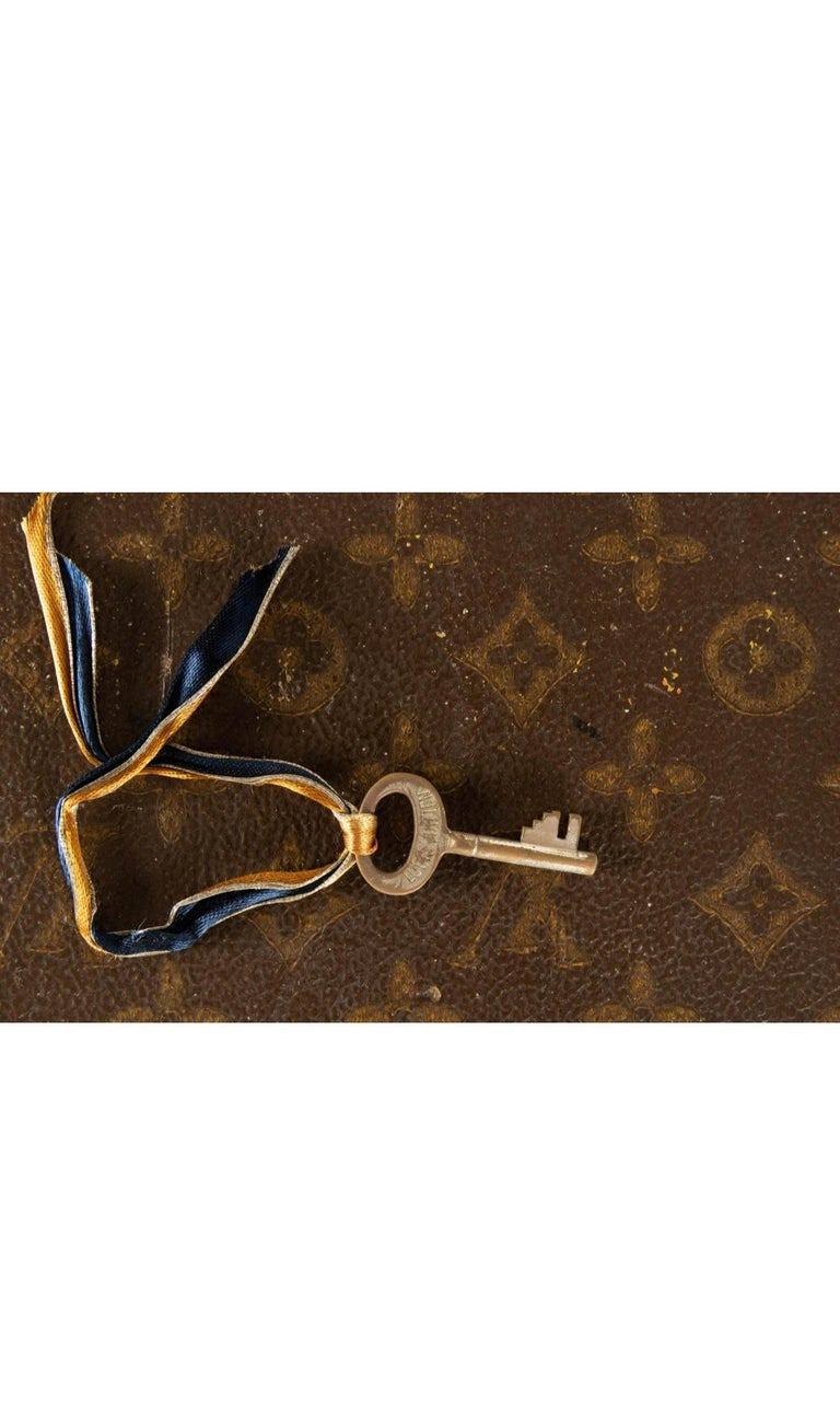 Louis Vuitton Wardrobe Steamer Trunk For Sale 6