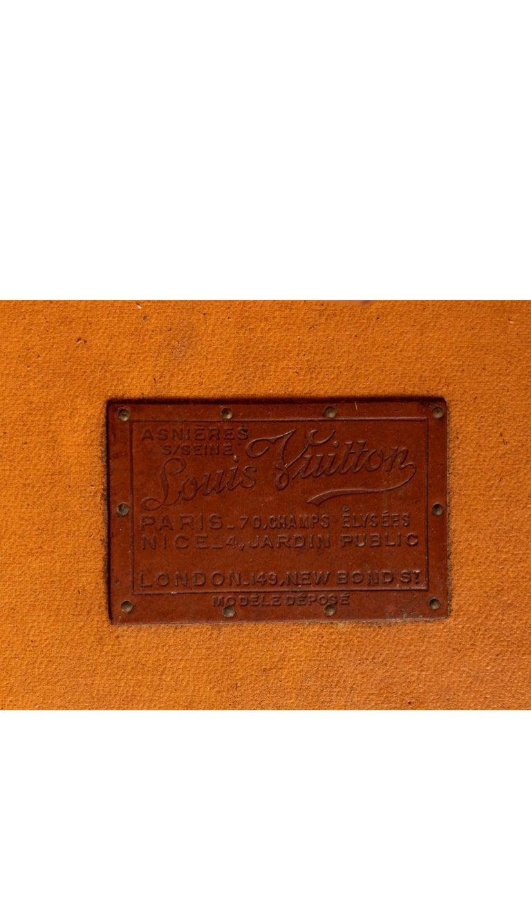 Louis Vuitton Wardrobe Steamer Trunk For Sale 7