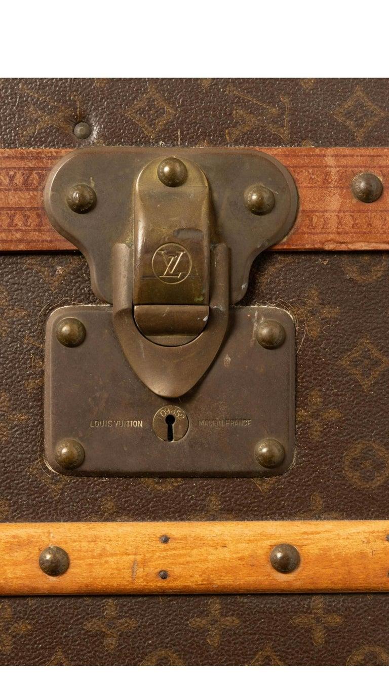 20th Century Louis Vuitton Wardrobe Steamer Trunk For Sale