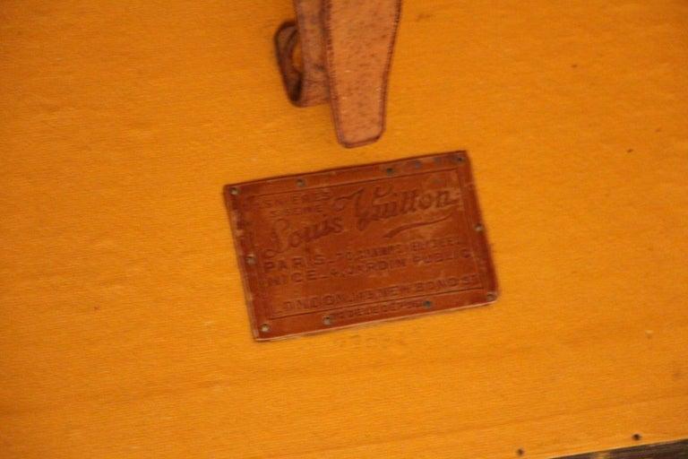 Louis Vuitton Wardrobe Trunk, Louis Vuitton Trunk, Louis Vuitton Steamer Trunk For Sale 5