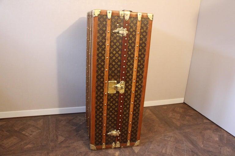 Louis Vuitton Wardrobe Trunk, Louis Vuitton Trunk, Louis Vuitton Steamer Trunk For Sale 6