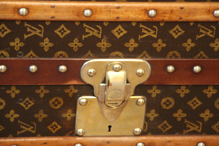 Louis Vuitton Wardrobe Trunk, Louis Vuitton Trunk, Louis Vuitton Steamer Trunk For Sale 11