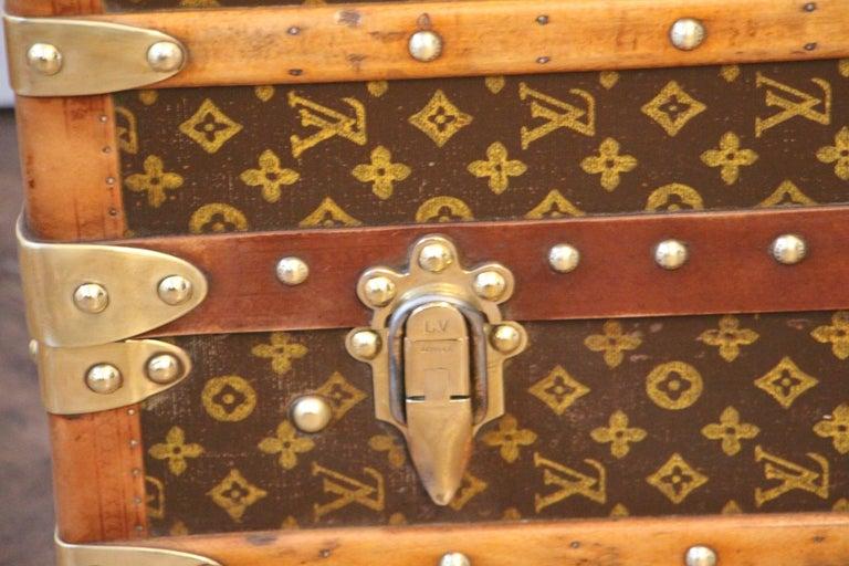 Louis Vuitton Wardrobe Trunk, Louis Vuitton Trunk, Louis Vuitton Steamer Trunk For Sale 12