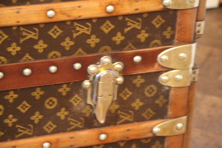 Louis Vuitton Wardrobe Trunk, Louis Vuitton Trunk, Louis Vuitton Steamer Trunk For Sale 13