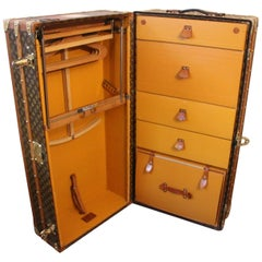 Louis Vuitton Wardrobe Trunk, Louis Vuitton Trunk, Louis Vuitton Steamer Trunk