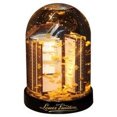 Louis Vuitton Wardrobe Trunk Snow Globe
