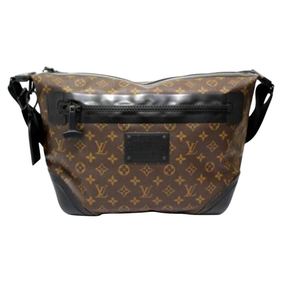 Louis Vuitton Water-Proof Shoulder Bag in Monogram Canvas with Black Rubber
