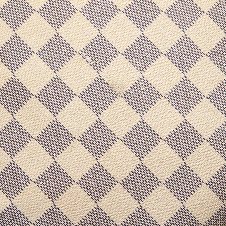 Louis Vuitton White Damier Azur Pochette Bosphore For Sale 6