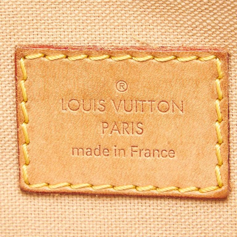 Louis Vuitton White Damier Azur Pochette Bosphore For Sale 2