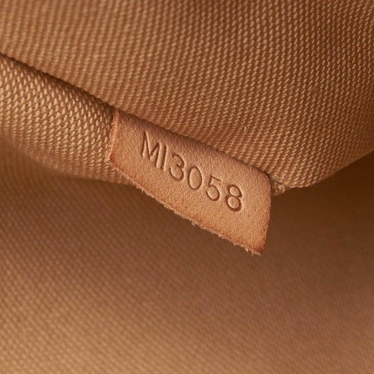 Louis Vuitton White Damier Azur Pochette Bosphore For Sale 3