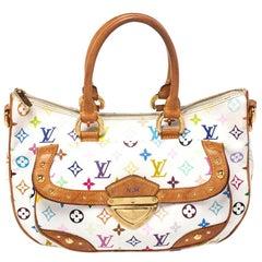 Louis Vuitton White Multicolor Monogram Canvas Rita Bag