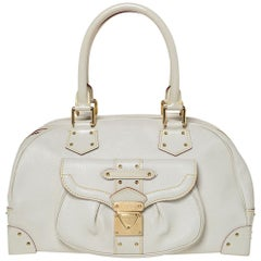 Louis Vuitton White Suhali Leather Suhali Le Superbe Bag