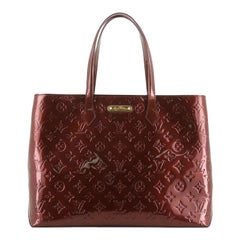 Louis Vuitton Wilshire Handbag Monogram Vernis MM