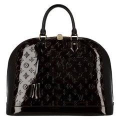 Louis Vuitton Woman Alma Burgundy