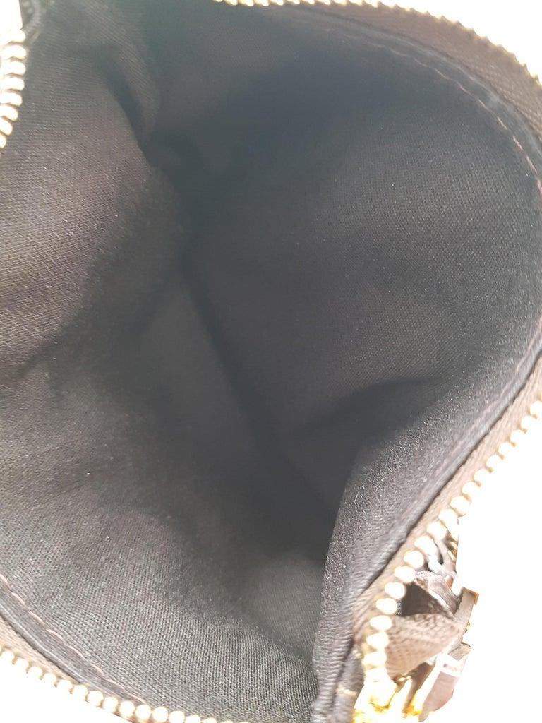 Louis Vuitton Woman Handbag Brown Cotton For Sale 1