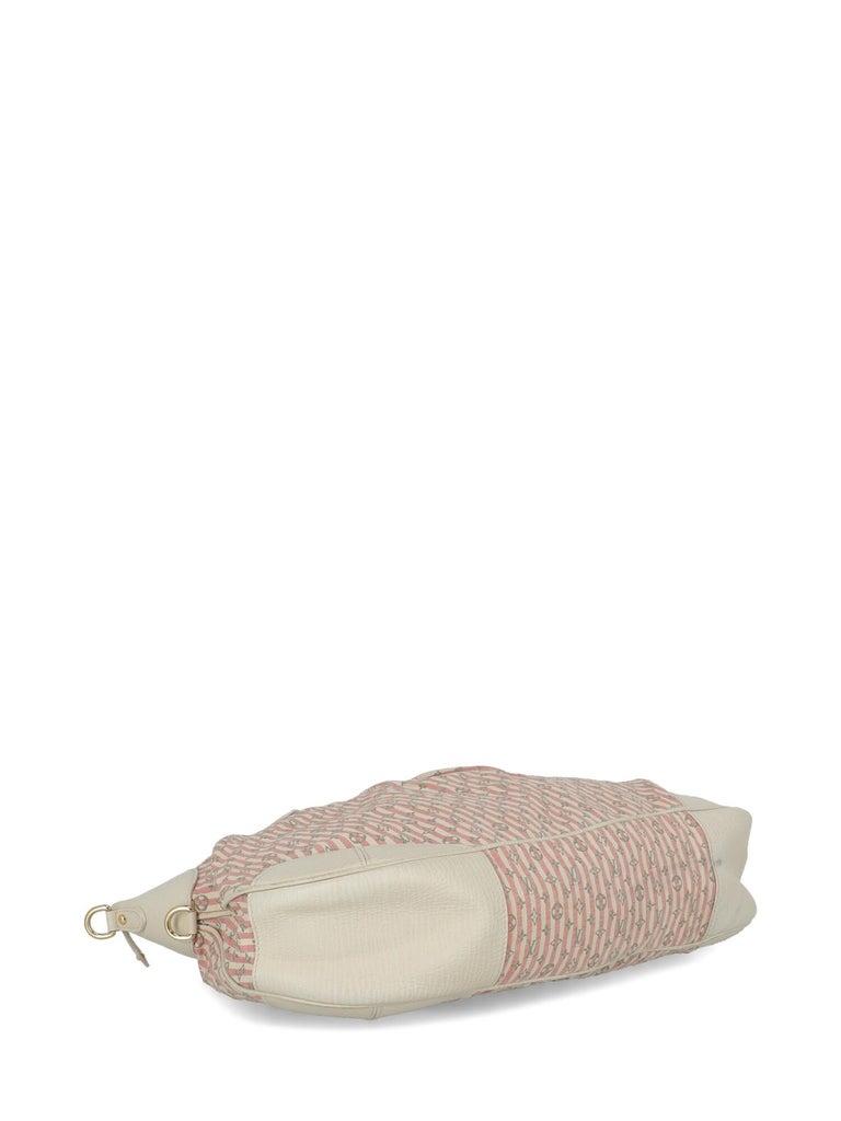 Women's Louis Vuitton Woman Handbag Croisette Ecru Cotton For Sale