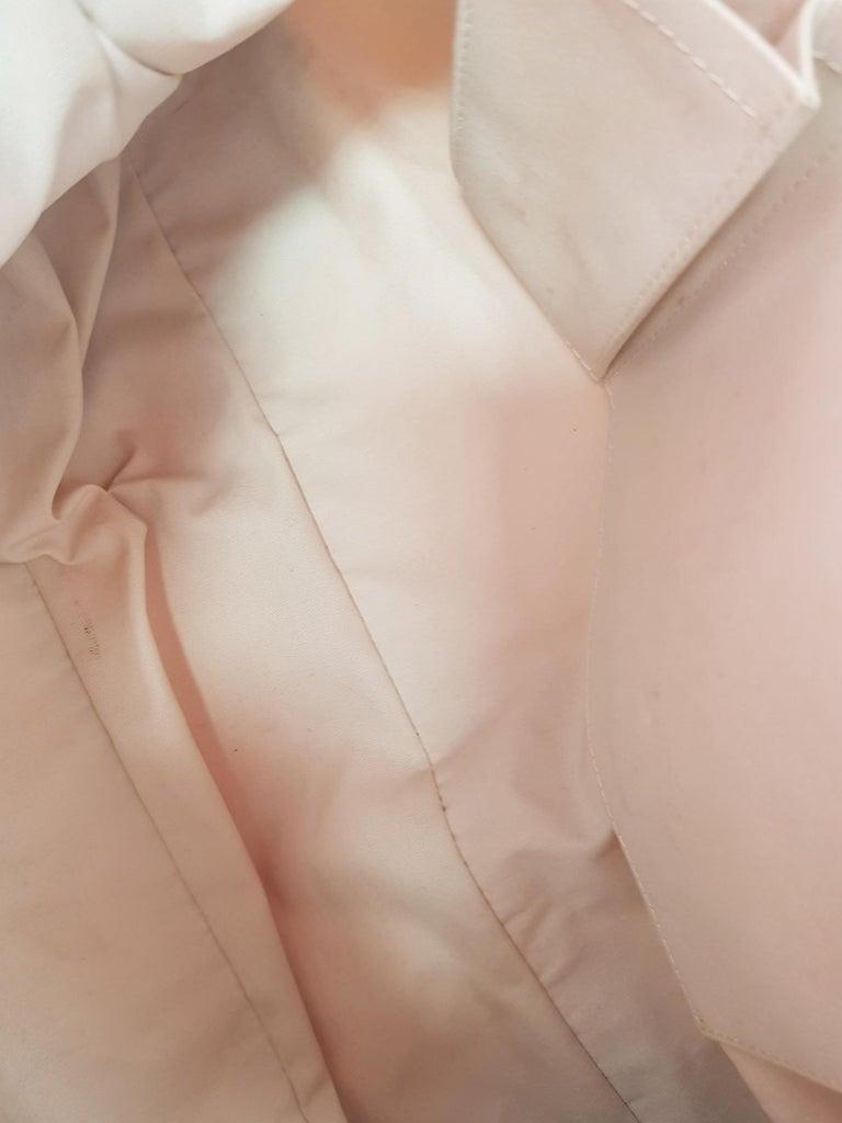 Louis Vuitton Woman Handbag Croisette Ecru Cotton For Sale 1