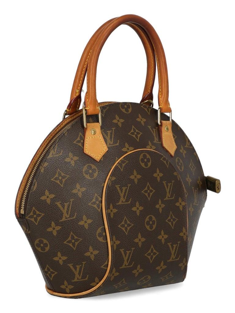 Black Louis Vuitton Woman Handbag Ellipse Beige Synthetic Fibers For Sale