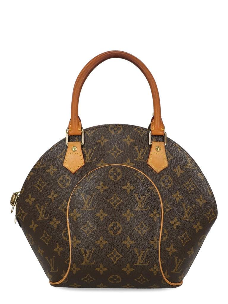 Louis Vuitton Woman Handbag Ellipse Beige Synthetic Fibers In Good Condition For Sale In Milan, IT
