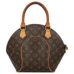 Louis Vuitton Woman Handbag Ellipse Beige Synthetic Fibers