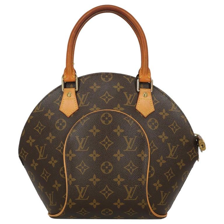 Louis Vuitton Woman Handbag Ellipse Beige Synthetic Fibers For Sale
