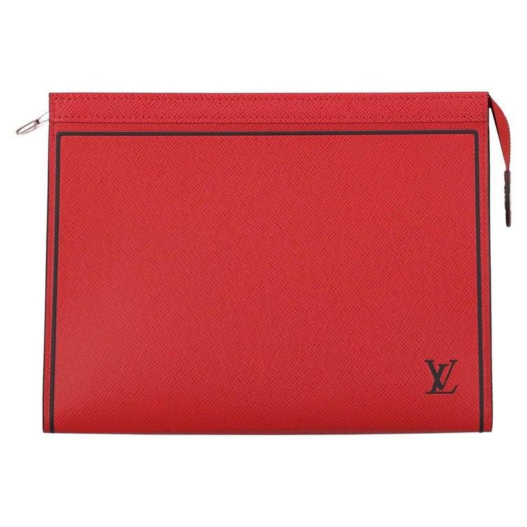 Louis Vuitton Woman Handbag  Red Leather For Sale