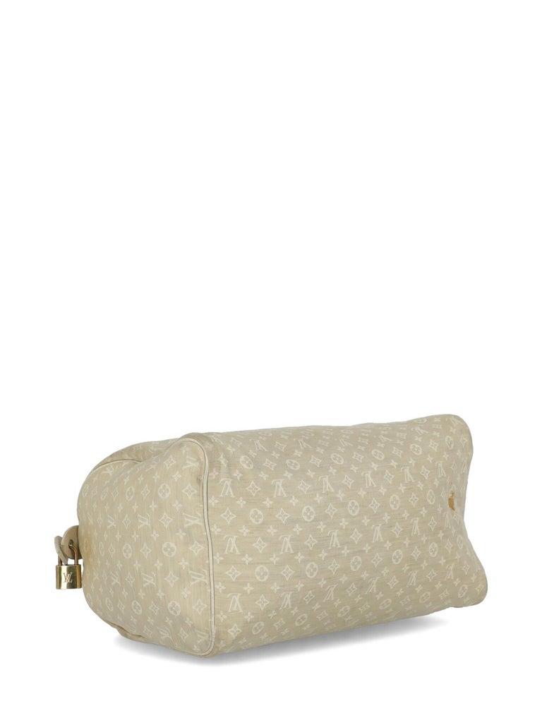 Louis Vuitton Woman Handbag Speedy 30 Beige Fabric For Sale 1