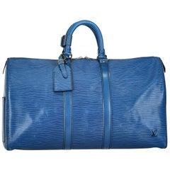 Louis Vuitton Woman Keepall 45 Navy