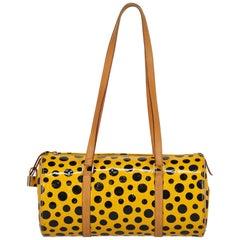 Louis Vuitton Woman Papillon Black, Yellow