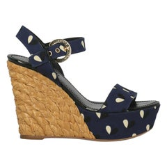 Louis Vuitton Woman Sandals Beige Eco-Friendly Fabric, Fabric IT 38.5