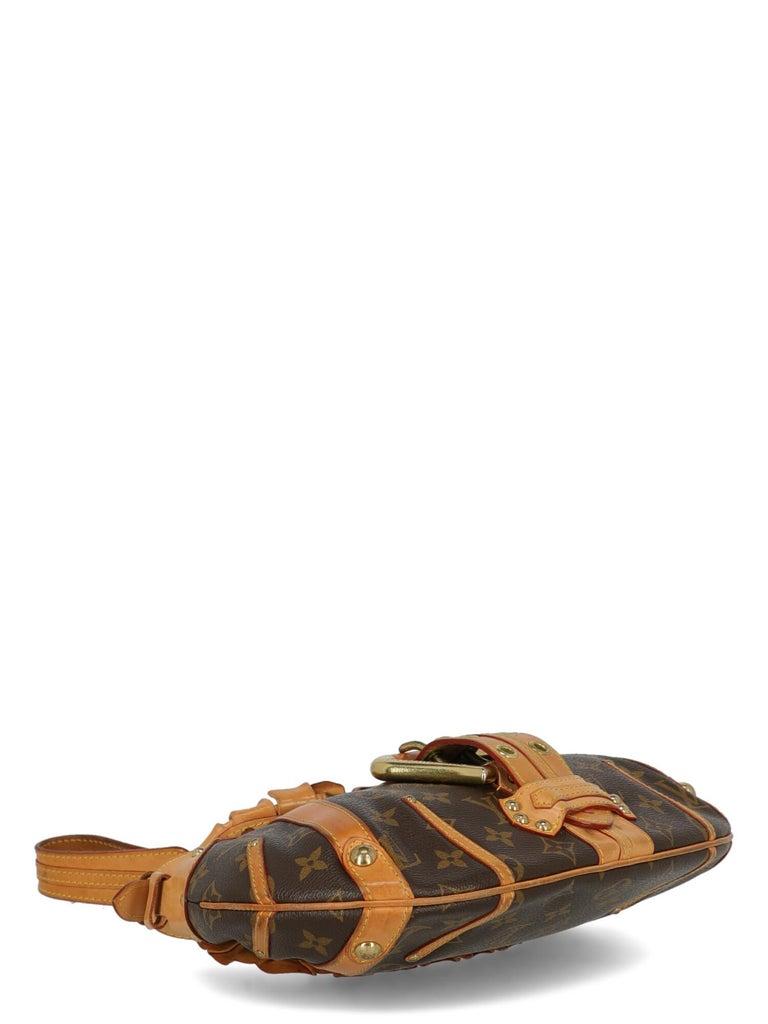 Louis Vuitton Woman Shoulder bag Brown Synthetic Fibers For Sale 1