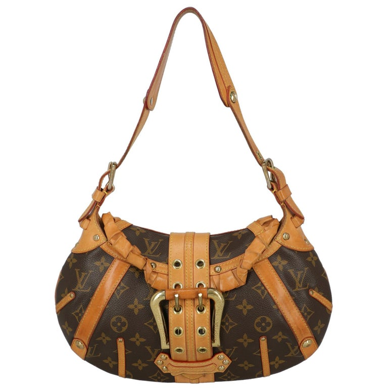 Louis Vuitton Woman Shoulder bag Brown Synthetic Fibers For Sale