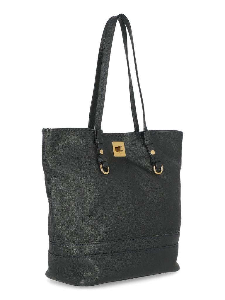 Black Louis Vuitton Woman Shoulder bag  Navy Leather For Sale