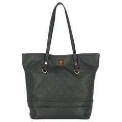 Louis Vuitton Woman Shoulder bag  Navy Leather