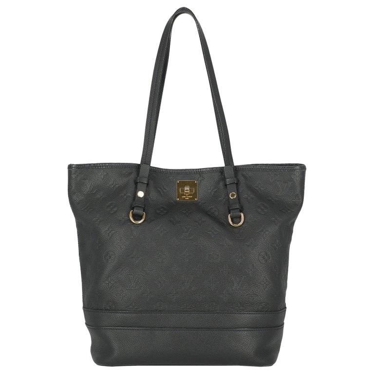 Louis Vuitton Woman Shoulder bag  Navy Leather For Sale