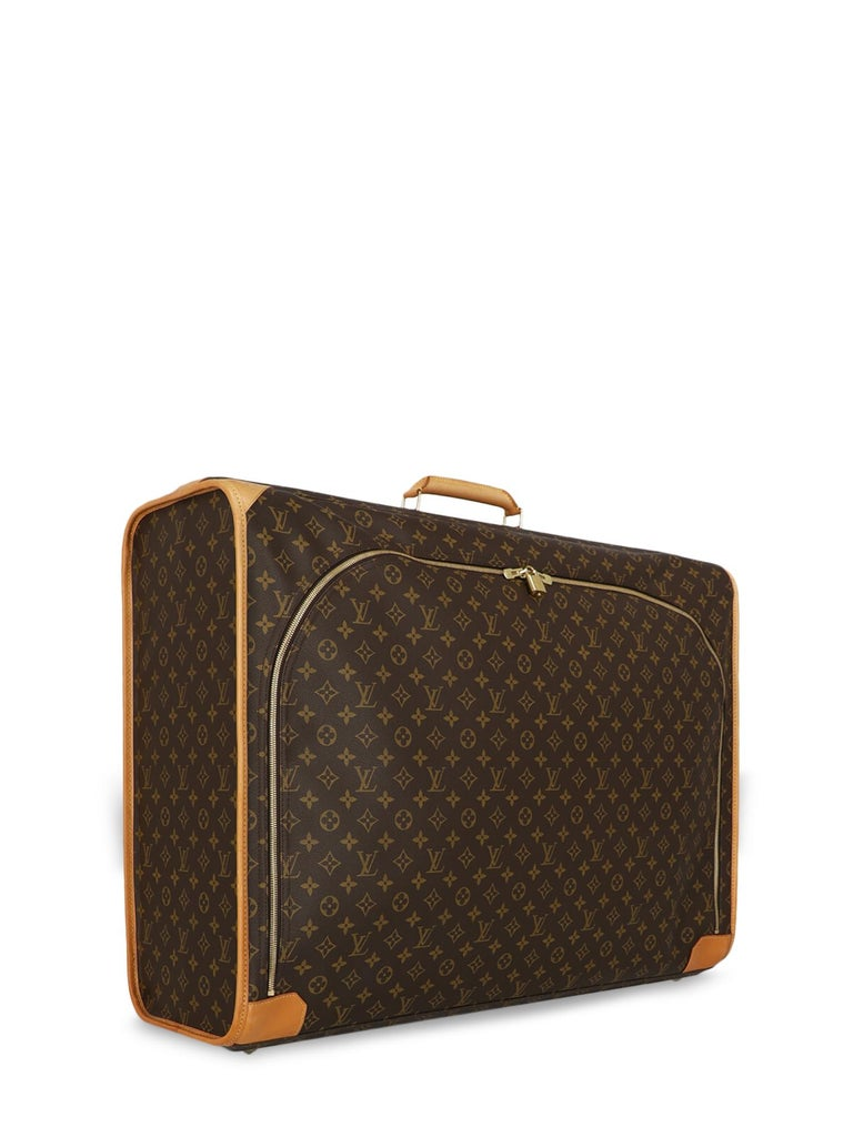 Black Louis Vuitton Woman Travel bag Beige Synthetic Fibers For Sale