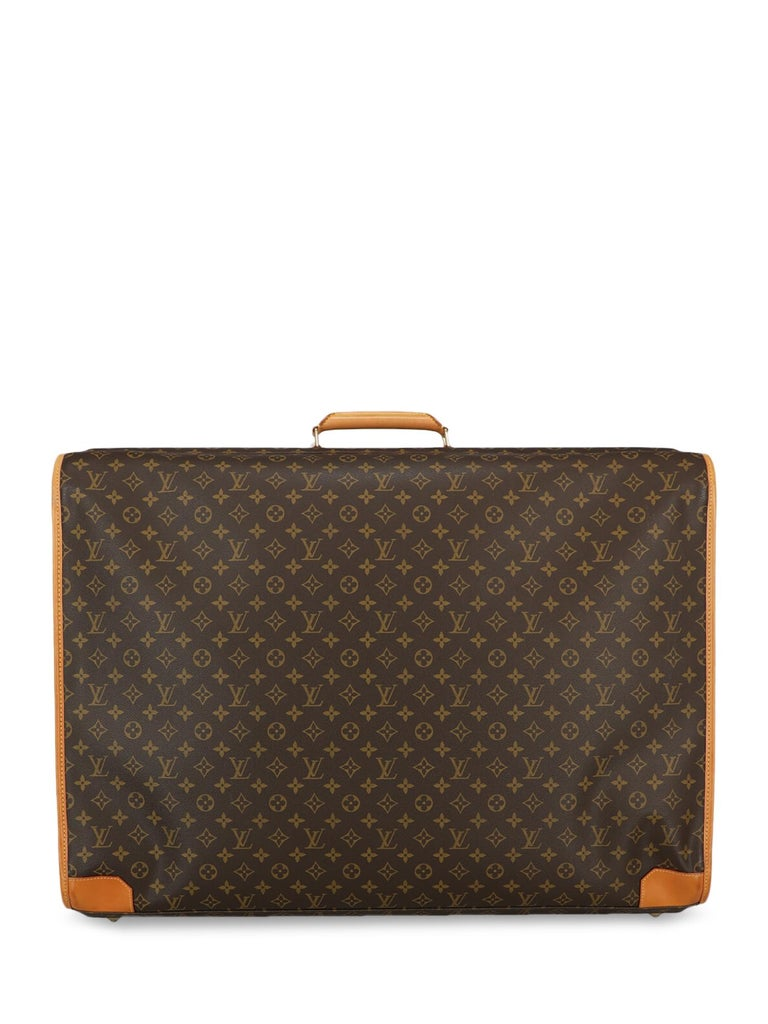 Louis Vuitton Woman Travel bag Beige Synthetic Fibers In Fair Condition For Sale In Milan, IT