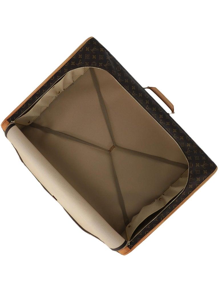 Louis Vuitton Woman Travel bag Beige Synthetic Fibers For Sale 1