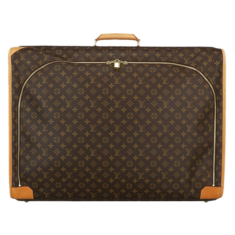 Louis Vuitton Woman Travel bag Beige Synthetic Fibers For Sale