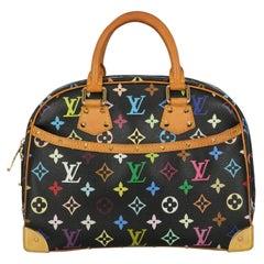 Louis Vuitton  Women   Handbags Trouville Black, Multicolor Synthetic Fibers