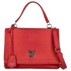 Louis Vuitton Women  Shoulder bags  Red Leather