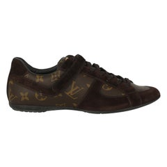 Louis Vuitton Women  Sneakers Brown Leather IT 36.5